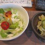 Dao Tao - 季節の野菜サラダと自家製漬け物