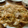 焼肉八幡 - 料理写真:ホルモン焼うどん