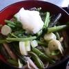 しば野 - 料理写真:山菜そば