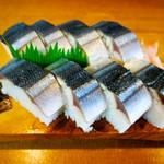 寿々女鮨 - 秋刀魚棒寿司