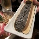 鍋屋 ひろじ - 豚バラと黒ゴマ風味の鶏つくね鍋