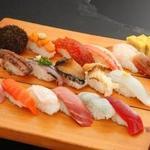 誠寿司 - 料理写真:旬のおまかせ握り(15貫)3500円