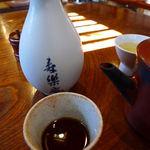 寿楽庵 - 蕎麦湯セット
