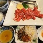ビーフ飯店 - 【土日祝】サービス定食 ¥1100
