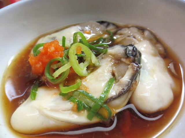 たつみ - クリーミー牡蠣3個入り。