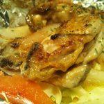 鉄板焼くわちゃん - 牡蠣アップ