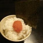 16161776 - ばりうま明太子ごはん(250円)
