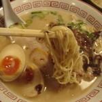 16161792 - ガーリック濃豚の細麺