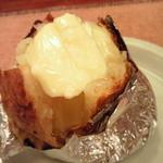 ステーキ 二教 - じゃがバター