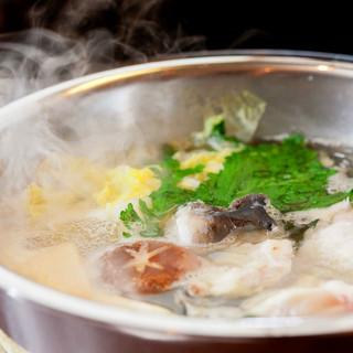 これからの季節おすすめ、ふぐ料理を是非ご賞味下さい!