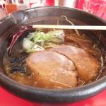 16165636 - 焼き醤油ラ-メン 700円 【 2012年12月 】