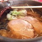 16165637 - 焼き醤油ラ-メン 700円 【 2012年12月 】