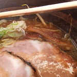 16165638 - 焼き醤油ラ-メン 700円 【 2012年12月 】
