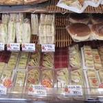 内田パン - サンド系は必ずチェック!お店の実力が解るし生地の良さも解りやすい♪