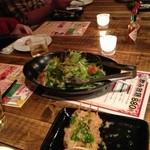 16167127 - サラダ マグロとかアボガド入ってて美味しかった