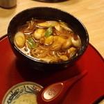 そば処たむら - とりそば 700円(2012.12月)