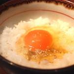 和飲 和ん 神楽坂 - 『スペ玉』玉子かけご飯