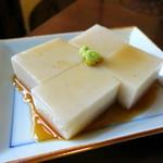 手打ち蕎麦 かね井 - そば豆腐
