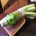 手打ち蕎麦 かね井 - 山葵