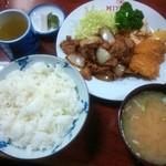 三好弥 - 本日のサービスランチ¥700