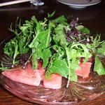 りゃん亭 - マグロのカルパッチョ