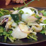 グラード - 帆立とつぶ貝のさっぱり和え物
