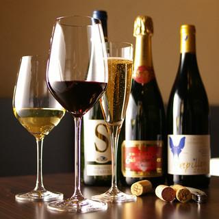 ☆オーガニックワインのセレクトはソムリエにお任せください☆
