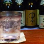 恕庵 - 焼酎も各種取り揃えております。