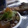 森のホテル御所山 - 料理写真:牛すじ煮込み(400円)&かど焼き(500円)