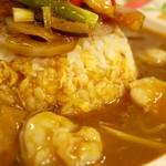 鮮魚・中華居酒屋 愛香楼 - カレースープ炒飯