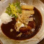 GB style-CAFE - 蟹クリームコロッケのロコモコ