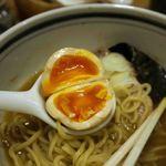 こうかいぼう - 半熟卵100円、京都瓢亭以来の完璧半熟卵でした。