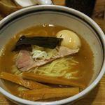 こうかいぼう - らーめん(600円)+味付け玉子(100円)