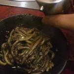 もつ彦 - 黒酢とラー油で美味さ大爆発!!めっちゃ美味い!!!(●^o^●)