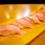 本家鮪屋すし茶家 - 炙り金目鯛寿司
