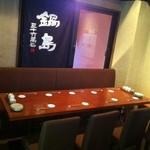 酒峰 - 最大10名様まで座れるテーブル席