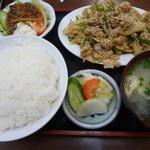 16178213 - バラ肉の生姜炒め定食