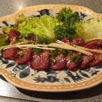 焼肉志磨屋 - 料理写真:レバ刺し