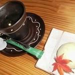もみじ庵おがさわら - 晩秋ハーブ鶏の蒸し焼き御膳デザート