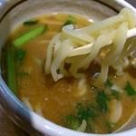 らぁ麺 あんど - 濃厚という名前の割には全然サラサラのつけ汁!