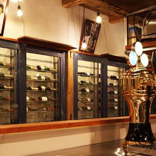 ワインにこだわるお店