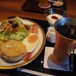 桜珈琲 - 料理写真:桜イングリッシュマフィンモーニング