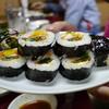 三千里 - 料理写真:韓国風海苔巻き ¥600