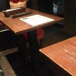 鮮・茶谷 - テーブル席♪