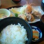 座楽 - 鶏のから揚げ定食