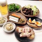 燻製と地ビール 和知 - お得な1000円セット(日〜木曜日限定です)