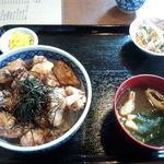 16187573 - たこ天丼定食