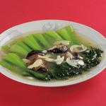 金春 - 青梗菜の塩味炒め 850円