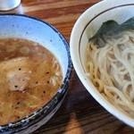 16188420 - つけ麺750円 (ランチタイム麺半玉増量)2012.12