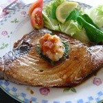 丸魚食堂 - マグロステーキ定食